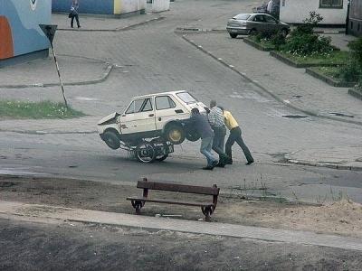Vtipné obrázky - Odtahová služba