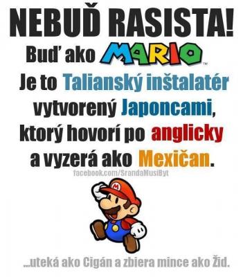 Vtipné obrázky - Mario nejlepší