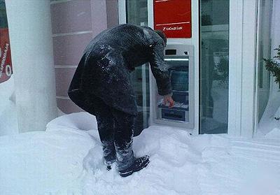 Vtipné obrázky - Sněhová nadílka