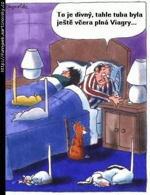 Vtipné obrázky - Kam se jen poděly mé tableky?