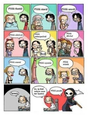Vtipné obrázky - Váhat se nemá