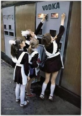 Vtipné obrázky - Automat v Rusku