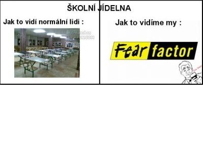 Školní jídelna | Vtipné obrázky - obrázky.vysmátej.cz