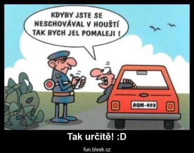 Pane policajt, ale to není fér | Vtipné obrázky - obrázky.vysmátej.cz