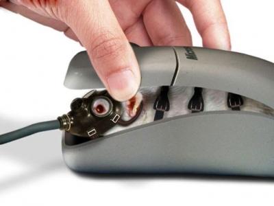 Vtipné obrázky - Princip počítačové myši