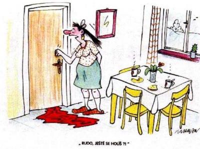 Vtipné obrázky - Neruš Máňo !