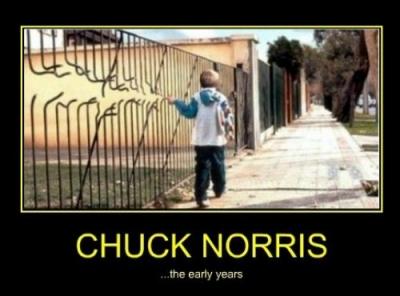 Vtipné obrázky - Chuck Norris za mlada